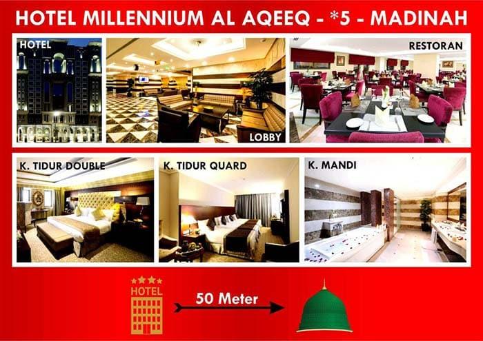 Hotel bintang 5 Medina Umroh Ramadhan 2020