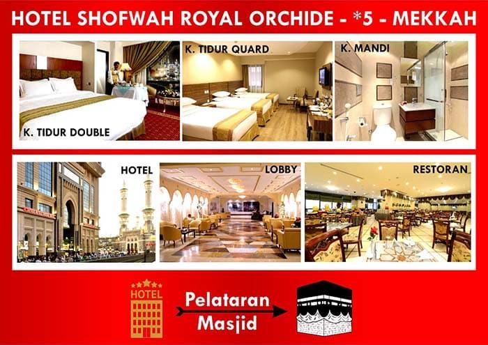 Hotel bintang 5 Mekah Umroh Ramadhan 2020